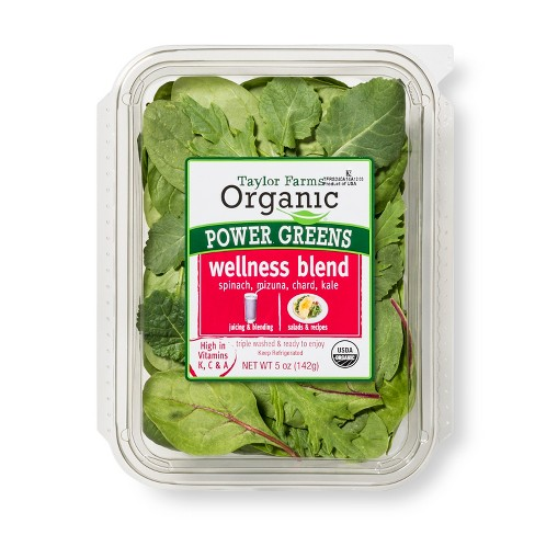 Taylor Farms Organic Power Greens - 5oz Package - image 1 of 1