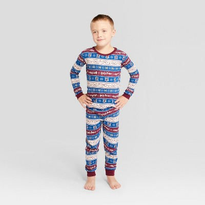 Kids' Holiday Harry Potter Pajama Set - Ivory 12