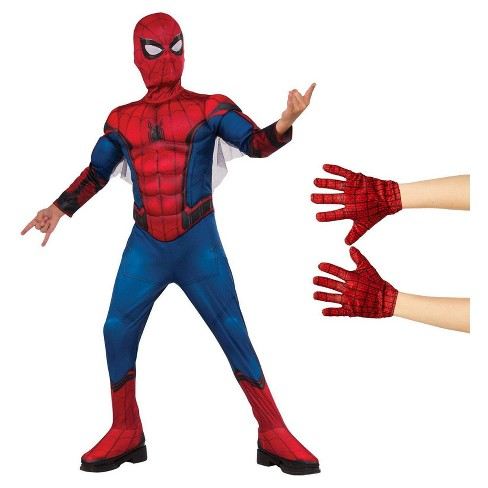 Spider-Man Homecoming - Spider-Man Kid's Costume Kit - image 1 of 1