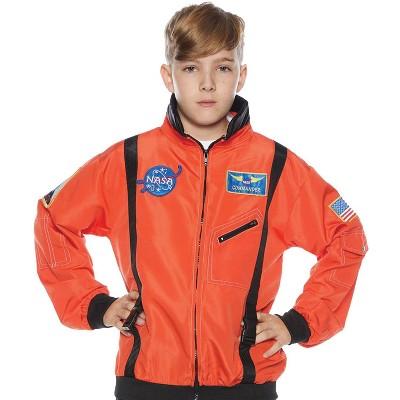 Kids' Astro Jacket Orange Halloween Costume