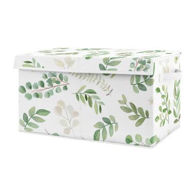 Botanical Leaf Toy Bin - Sweet Jojo Designs