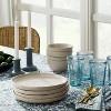 "10.6"" 4pk Stoneware Glazed Dinner Plates Cream - Threshold™ designed with Studio McGee - image 2 of 4"