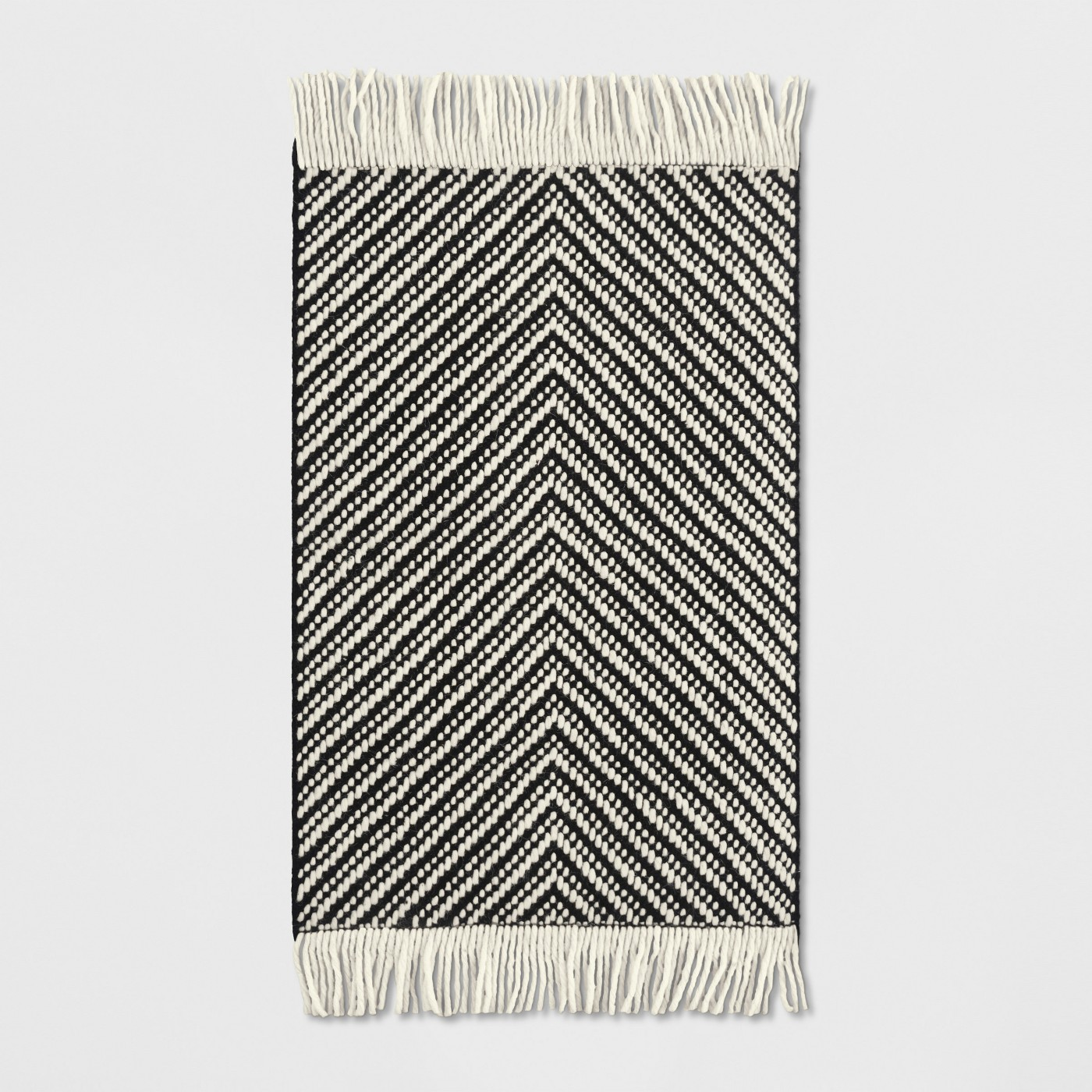 Black/White Chevron Woven Area Rug - Project 62™ - image 1 of 3