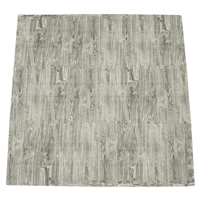 Tadpoles 9-Piece Set Playmat - Wood Grain