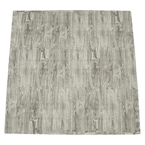 Tadpoles 9-Piece Set Playmat - Wood Grain - image 1 of 1