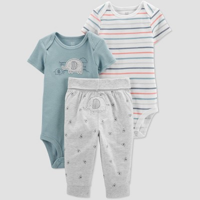 Baby Boys' Elephant Top & Bottom Set - Just One You® made by carter's Blue