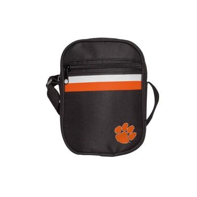 NCAA Clemson Tigers Black Mini Messenger Bag
