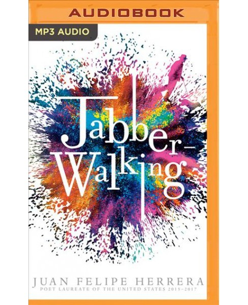 Jabberwalking -  by Juan Felipe Herrera (MP3-CD) - image 1 of 1