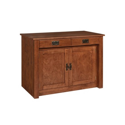 Expanding Cabinet/Table Cherry - Stakmore