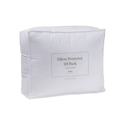 Hospitality Pack Microfiber Pillow Protector - Bokser Home