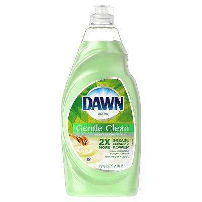 Dawn Ultra Gentle Clean Dishwashing Liquid Dish Soap - Green Tea & Honey Scent - 24 fl oz