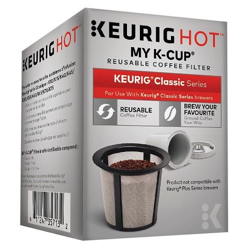 keurig® my k-cup® reusable coffee filter : target