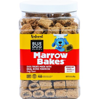 Blue Dog Bakery Marrow Bakes Beef Flavor Dry Dog Treats - 28oz
