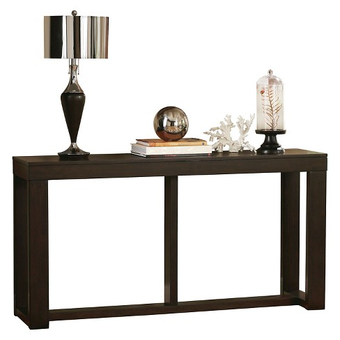 Watson Sofa Table Dark Brown Signature Design By Ashley