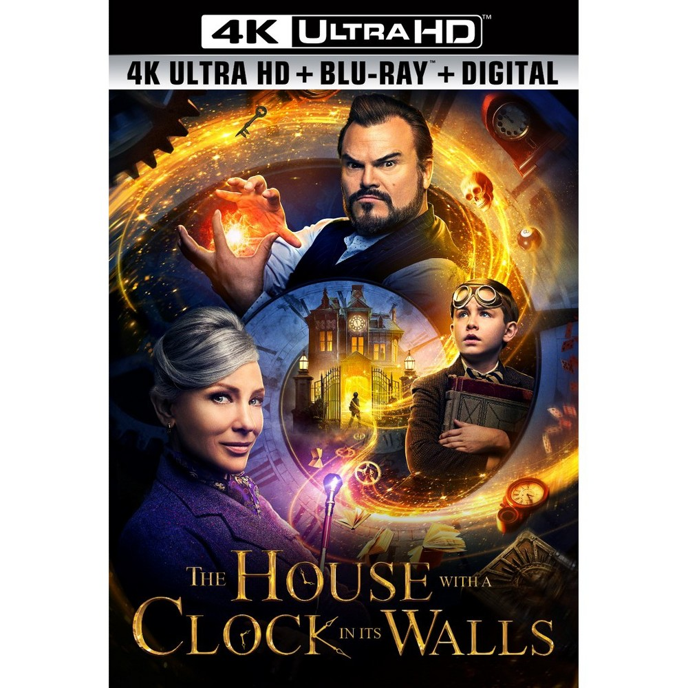 The House With A Clock In Its Walls 4k Uhd
