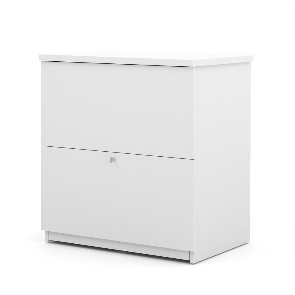2 Drawer Standard File Cabinet White - Bestar