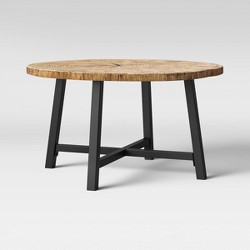 Faux Wood Patio Coffee Table - Brown - Project 62™