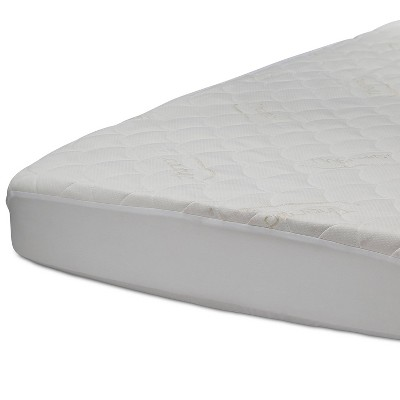 ComforPedic from Beautyrest Kid's Fitted Crib Mattress Protector with Thermacol