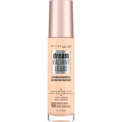 Maybelline Dream Radiant Liquid Foundation with Hyaluronic Acid + Collagen - 1 fl oz