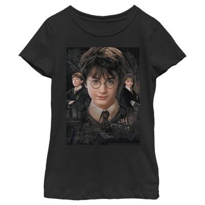 Girl's Harry Potter Wizard Best Friends T-Shirt