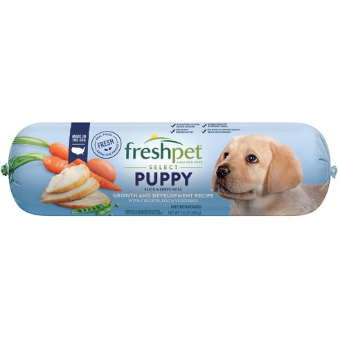 Freshpet Select Food Recipe for Puppies - Tender Chicken with Vegetable & Brown Rice - 1.5lb - image 1 of 2