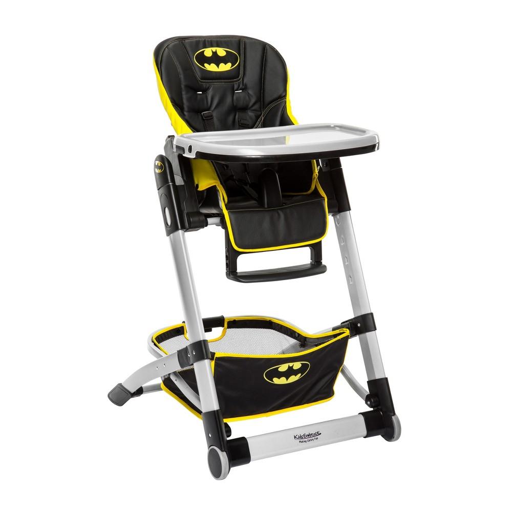 Image of KidsEmbrace DC Comics Batman Deluxe High Chair, Black