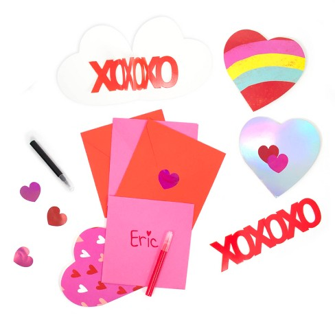 Valentine Pop Up Card Craft Kit Spritz Target