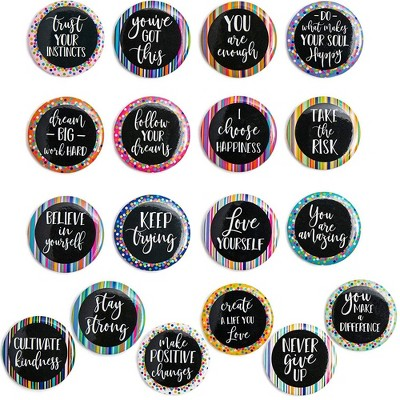 Inspirational Magnets for Lockers Or Fridge (18 Count)
