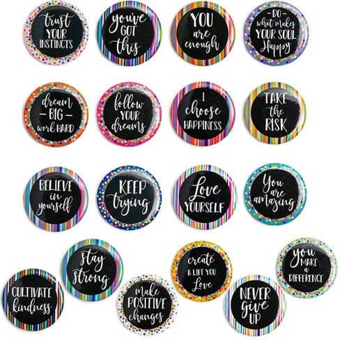 Inspirational Magnets For Lockers Or Fridge 18 Count Target