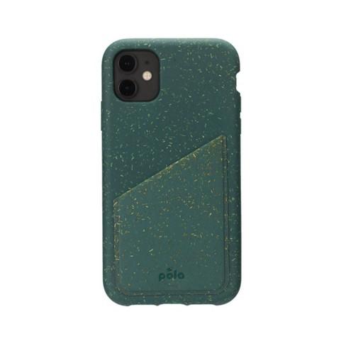 Pela Apple iPhone Eco-Friendly Wallet Case - Green - image 1 of 3