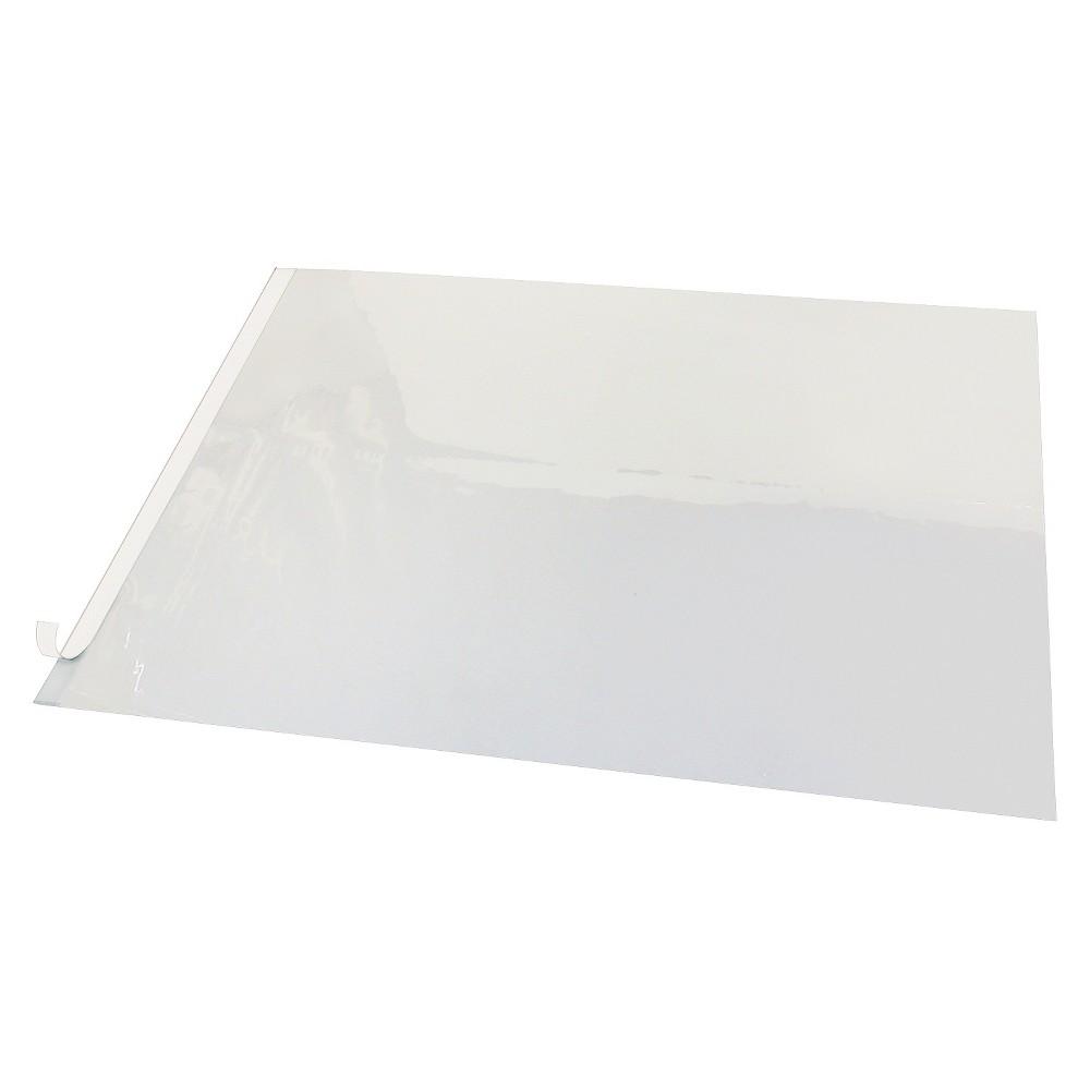 Artistic Second Sight Clear Plastic Desk Protector, 24 x 19, White