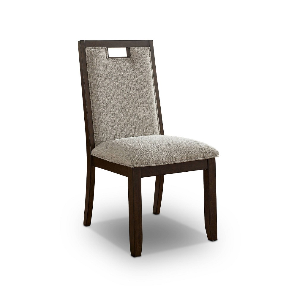 Cheap Set of 2 Terraview Padded Seat and Back Side Chair Beige - HOMES: Inside + Out