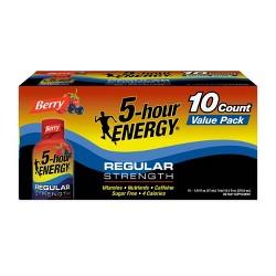 5 Hour Energy Shot - Berry - 10pk