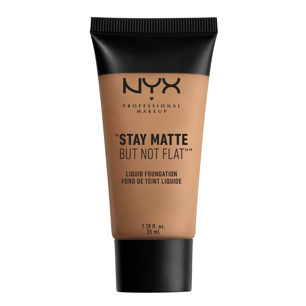 Nyx Professional Makeup Stay Matte But Not Flat Liquid Foundation Nutmeg (Brown) - 1.18 fl oz