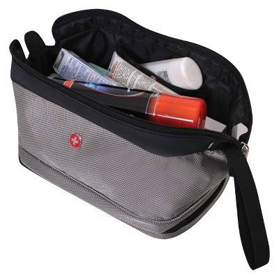 SWISSGEAR Deluxe Travel Dopp Kit - Black, Size: Small