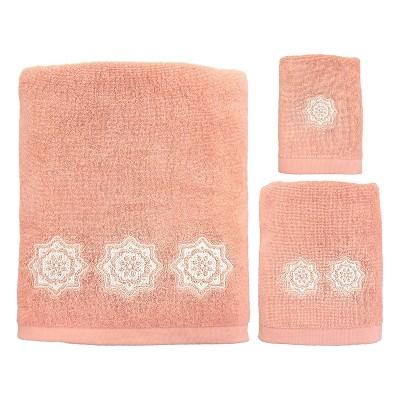 3pc Kaleidoscope Bath Towel Set - Allure Home Creations