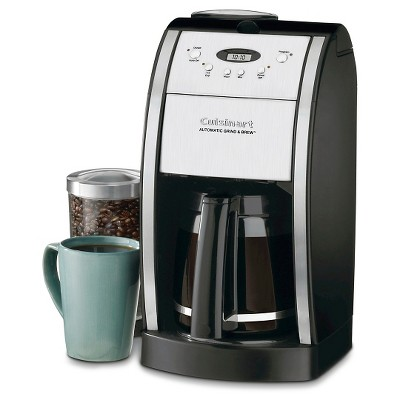 Cuisinart® Grind & Brew 12 Cup Automatic Coffee Maker - Black DGB-550BK