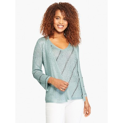 NIC+ZOE Women's Right Direction Cardigan Breeze