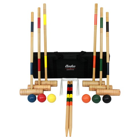 Baden Deluxe Croquet Set - image 1 of 5