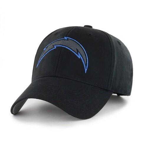 b14dcd41 NFL Los Angeles Chargers Classic Black Adjustable Cap/Hat by Fan Favorite