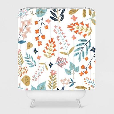 83 Oranges Botanical Harmony Shower Curtain - Deny Designs