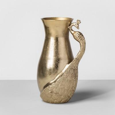 Peacock Vase Gold - Opalhouse™