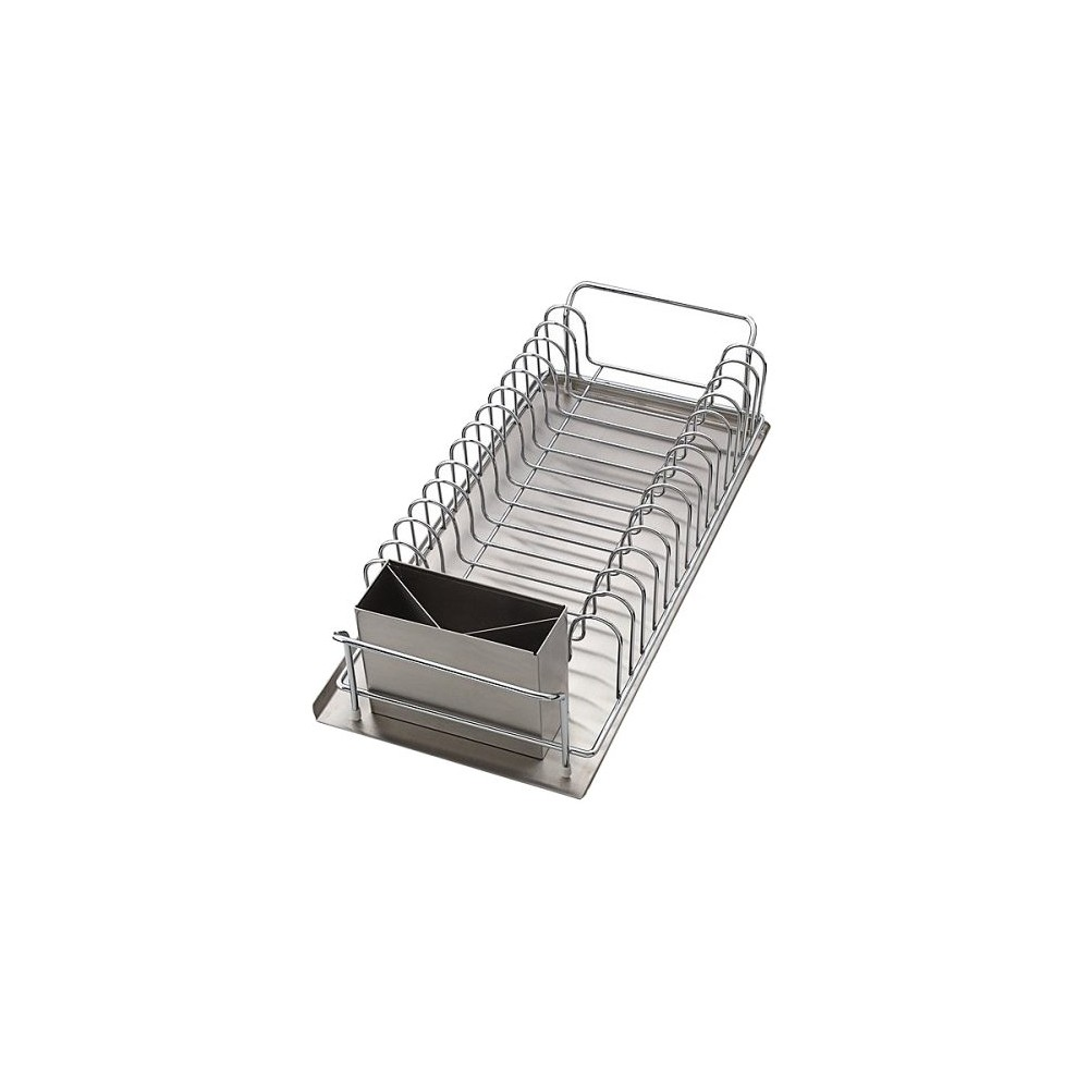 Image of Dish Drainer 3-pc. Set, Silver