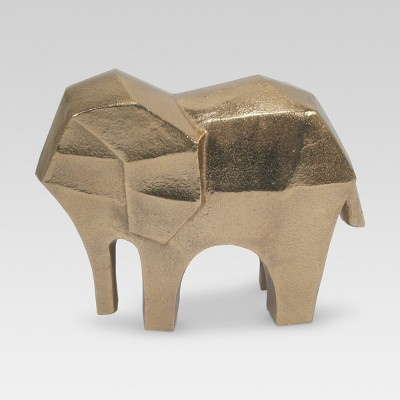 Elephant Figure Gold - Project 62™