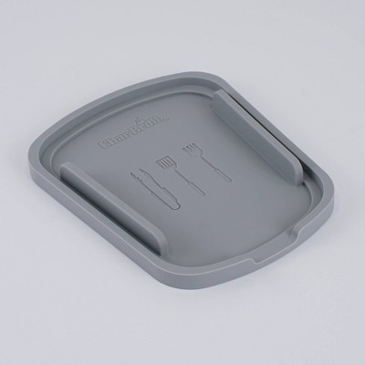 Char-Broil Silicone 1 Chamber Tool Trivet Gray