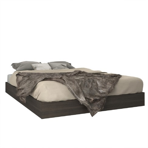 Tribeca Platform Bed Queen Black - Nexera - image 1 of 4