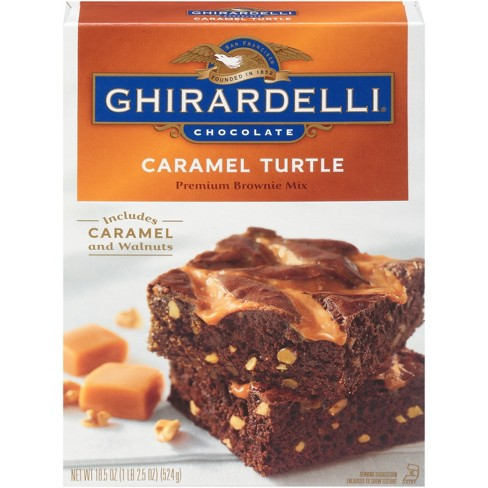 Ghirardelli Chocolate Caramel Turtle Brownie Mix - 18.5oz - image 1 of 3