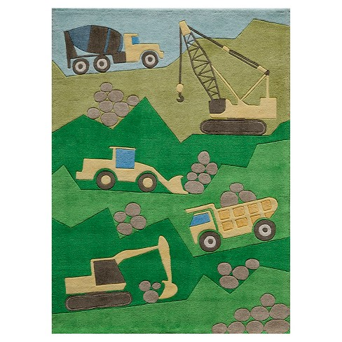 Constru-Countion Zone Rug - image 1 of 2