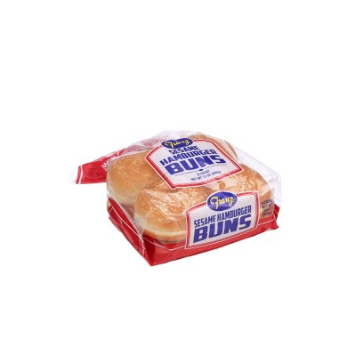 Franz Sesame Cluster Hamburger Buns - 15oz