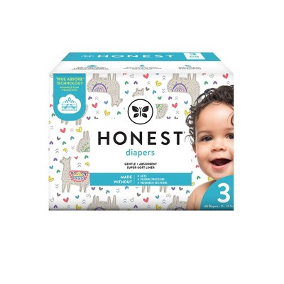The Honest Company Disposable Diapers All The Alpacas Size 3 - 68ct